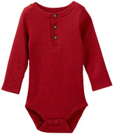 Joe Fresh Henley Bodysuit (Baby Boys)