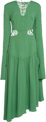 MATÉRIEL Lace Up Dress