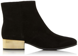 Geox D Peython L. B Contrast Heel Ankle Boots
