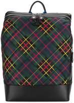 Vivienne Westwood Wimbledon tartan backpack