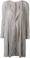 Pleats Please By Issey Miyake - pleated coat - women - Polyester - 1
