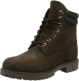 Timberland Men's 6 Inch Double Collar Lace up Boots
