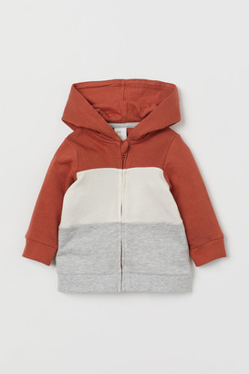 H&M Hooded Sweatshirt Jacket - Orange