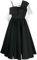 MM6 MAISON MARGIELA flared midi dress