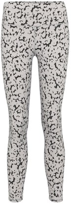 Varley Century printed high-rise leggings