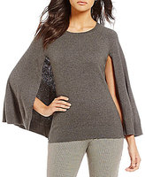 Trina Turk Fern Dell Cape Sweater