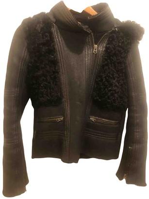 Topshop \N Black Leather Jackets