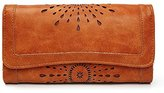Cocoo Women Retro Wallet Long Purse Phone Card Holder Clutch Large Capacity Pocket