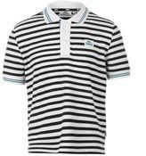 Lonsdale London Kids Stripe Polo Junior Boys Shirt Tee Top Short Sleeves Regular Fit