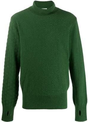Oliver Spencer textured knit turtleneck