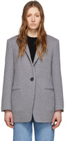 Isabel Marant Grey Wool Felicie Coat