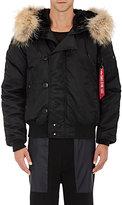Alpha Industries Men's N-2B Short Parka Jacket-BLACK