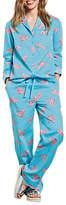 Hush Tiger Cotton Pyjama Set, Radiance/Coral