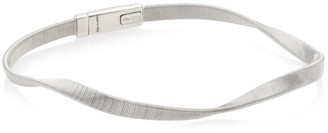 Marco Bicego Marrakech 18K White Gold Twisted Coil Bracelet