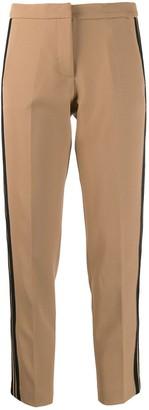 Ermanno Ermanno Contrast-Stripe Tailored Trousers