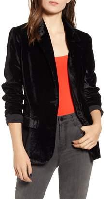 Chelsea28 Velvet Dress Blazer