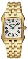 Seiko SXGP22P1 Women's Quartz Analogue Watch-Grey Face-Gold Plated Steel Bracelet