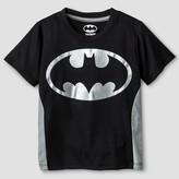 Batman Toddler Boys' Short Sleeve T-Shirt - Black