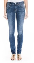 Level 99 Women's Allie Distressed Straight Leg Jeans
