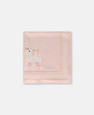 Stella McCartney Giraffe Cotton-Wool Blanket, Unisex