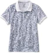 L.L. Bean Premium Double L Polo, Slightly Fitted Floral