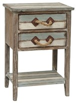 Beachcrest Home Rushmore Wood End Table II