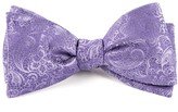 The Tie Bar Lilac Ceremony Paisley Bow Tie