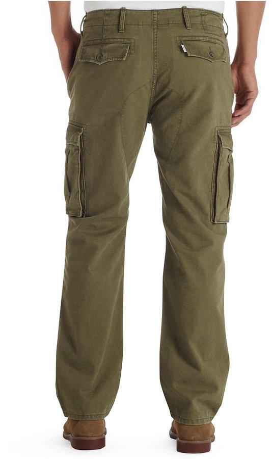 Levi's Ace Cargo Ivy Green Pants