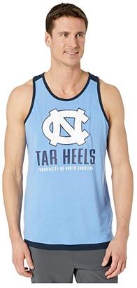Champion College North Carolina Tar Heels Field Day Fashion Tank (Carolina Blue/Gear Navy) Men's Sleeveless