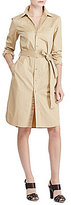 Lauren Ralph Lauren Cotton Twill Shirt Dress