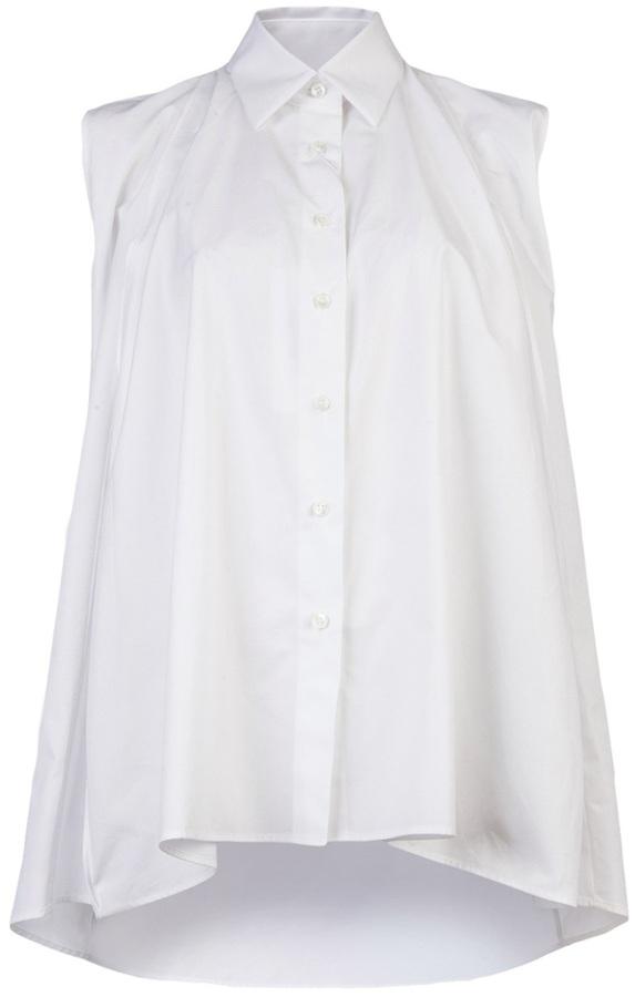 Maison Martin Margiela Cocoon button up blouse