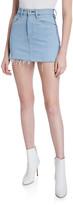 Hudson Viper Denim Mini Skirt