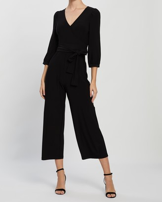 Whistles Wrap Jersey Jumpsuit