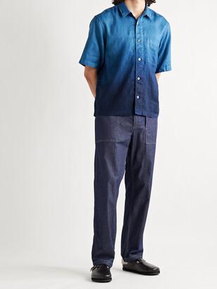Blue Blue Japan Degrade Linen Shirt