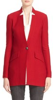 St. John Women's Honeycomb Knit One-Button Jacket