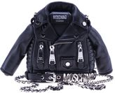 Moschino Biker Jacket Clutch Bag