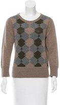 Rag & Bone Wool Argyle Sweater