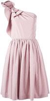 Prada one shoulder dress - women - Silk - 38