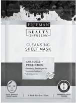 Freeman Cleansing Charcoal & Probiotics Sheet Mask