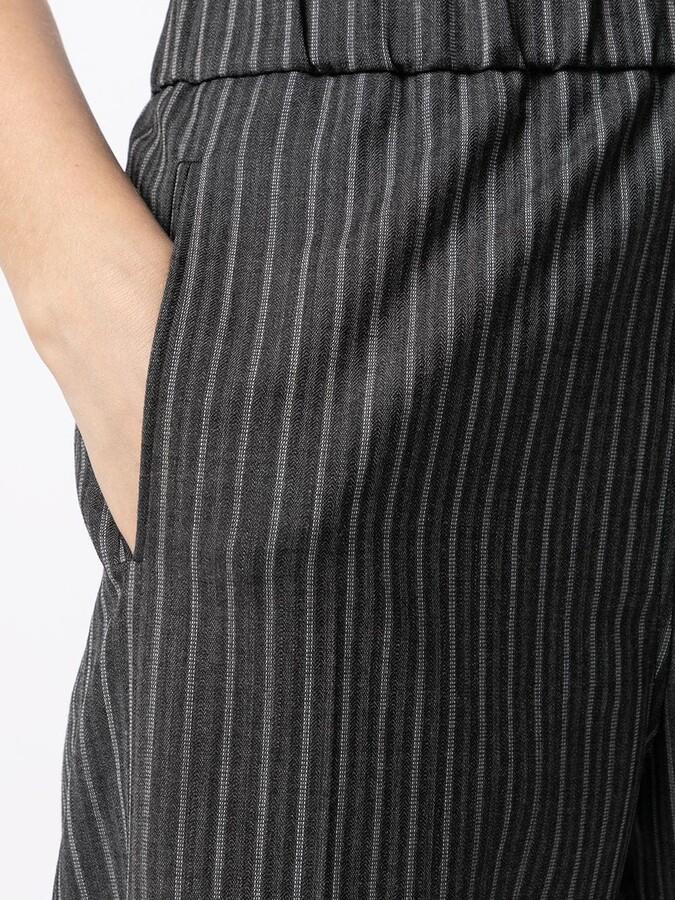 Thumbnail for your product : Ganni Stripe Print Slim Track Pants