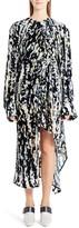 Marni Women's Haze Print Devore Velvet Dress