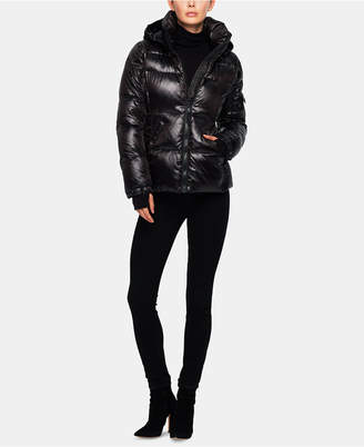S13 Kylie Hooded Down Puffer Coat