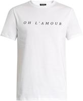 A.P.C. Oh L'Amour crew-neck T-shirt
