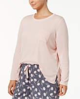 Alfani Plus Size Scoop-Neck Pajama Top, Created for Macy's