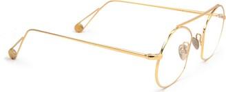 AHLEM Place Des Victoires Optic Peony Gold Glasses