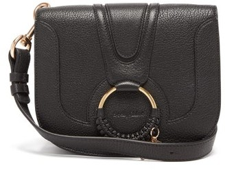 See by Chloe Hana Small Suede And Leather Cross-body Bag - Womens - Black