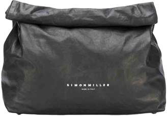 Simon Miller Small Lunch Bag Black Leather Clutch bags