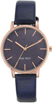 Nine West Lilibeth Black Round Watch