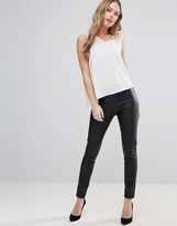 Only Simple Jane Faux Leather Leggings