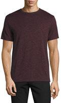 Theory Gaskell Crewneck T-Shirt, Helleborus Multi